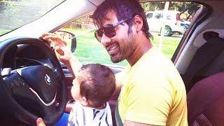 Kumkum Bhagya's Abhi Aka Shabbir Ahluwalia Takes A Drive With His Son