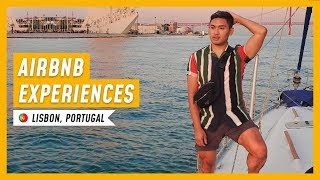 Gambar cover AIRBNB EXPERIENCES IN LISBON: Exploring on land and sea! 🇵🇹 - RomeAroundTheWorld Day 10