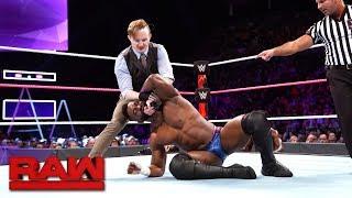 Cedric Alexander vs. Gentleman Jack Gallagher: Raw, Oct. 16, 2017