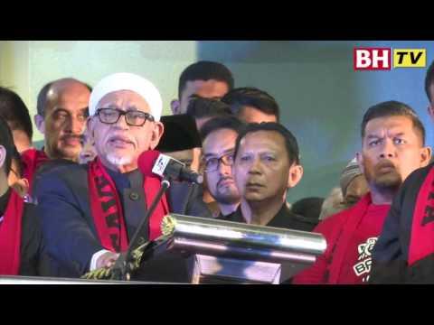Ucapan penuh Presiden PAS, Datuk Seri Abdul Hadi Awang di Himpunan Solidariti Ummah Untuk Rohingya