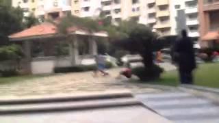 Purva fountain square