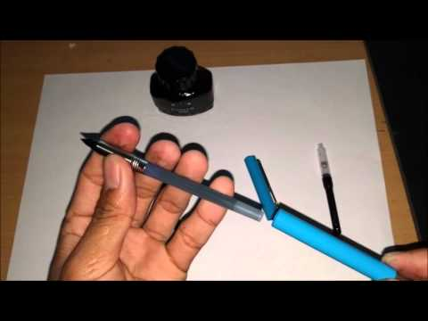 Parker Fountain Pen Refill - Piston Ink Converter and Cartridge