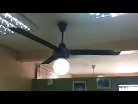 KDK Industrial Ceiling Fan (90s Brown Model) at a dentist (Greatest Hits Remake)