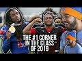 The HARDEST HITTING Cornerback In High School!!! Akeem Dent Highlights [Reaction]