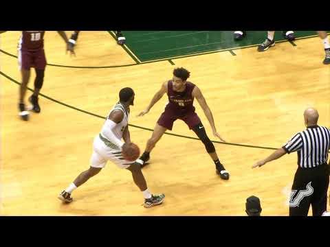 usf-men's-basketball:-postgame-highlight-(alabama-a&m)