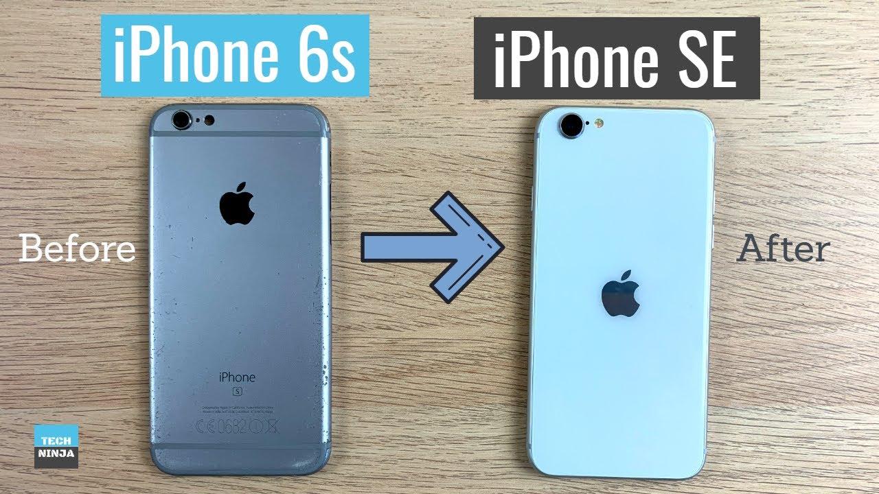 Turn iPhone 6s to iPhone SE (2020)   Custom iPhone 6s   Convert broken iPhone 6s to iPhone SE (2020)