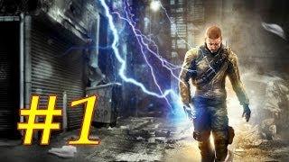 Прохождение InFamous [рус] PS3 720p эпизод #1