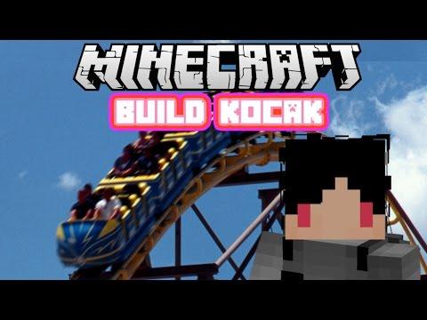 Minecraft Indonesia - Build Kocak (26) - Roller Coaster!