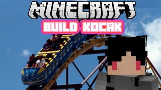 Minecraft Indonesia - Build Kocak (26) - Roller Coaster!