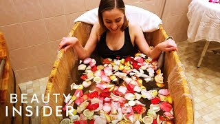 Spa Soaks And Wraps You In Flowers And Seaweed