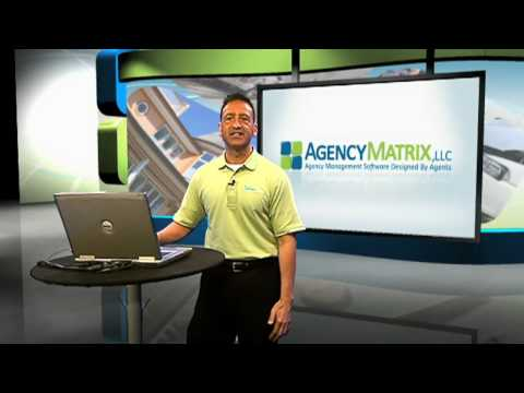 Agency Matrix Introduction to Set Up - Insurance Agency Software