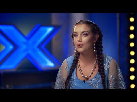 X Factor Bootcamp 2017. Narcisa Stănescu, de o frumusețe răpitoare, a cucerit o țară întreagă