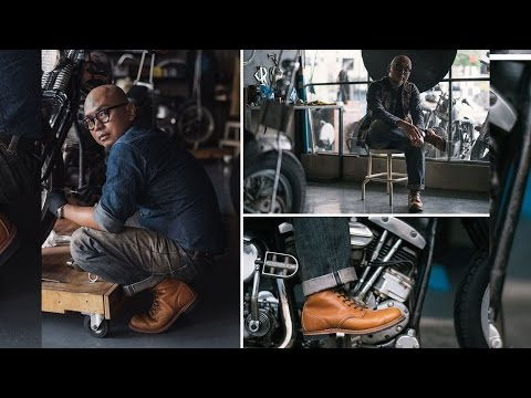 Streething x Red Wing Shoes: Custom Motorcycles with Faizal Reza