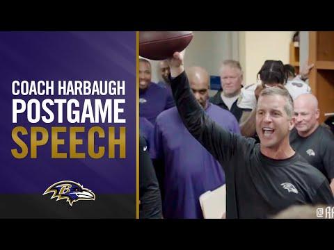 Ravens Locker Room Reaction After Detroit Win