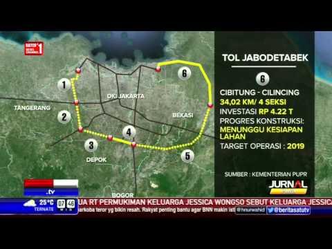 Perkembangan Proyek Tol di Jabodetabek