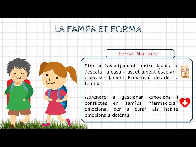 Formació FAMPA: Ferran Martínez (psicòleg)