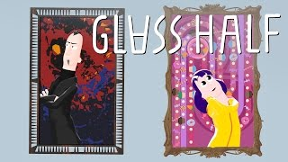 Glas Halb - Blender animierte cartoon