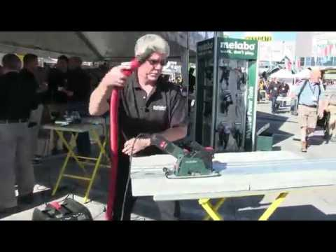 Metabo Grinder Shroud Combo That Can be used like a Track Saw