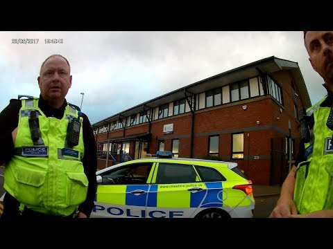 Photography Audit - Widnes Police Station, Cheshire, England