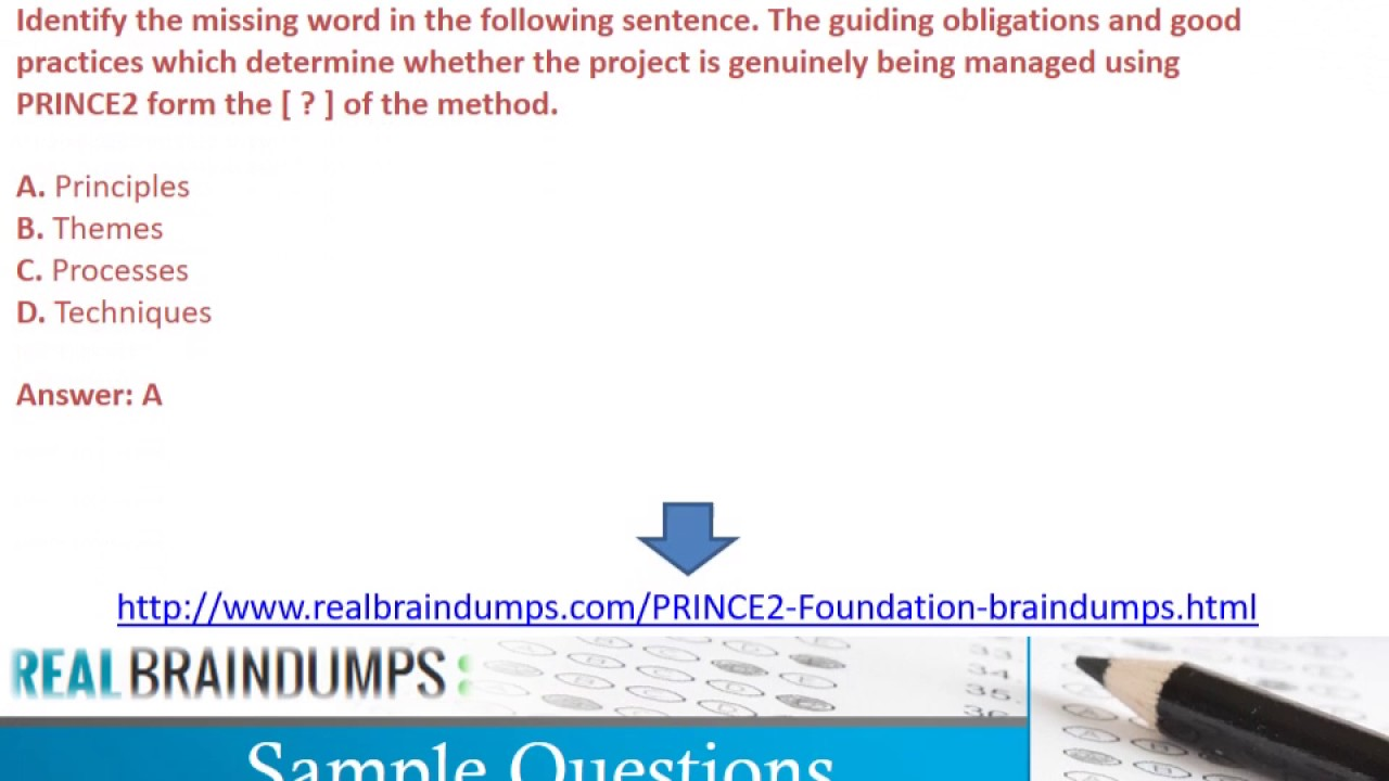 Prince2 Foundation Certification Free Professional Resume