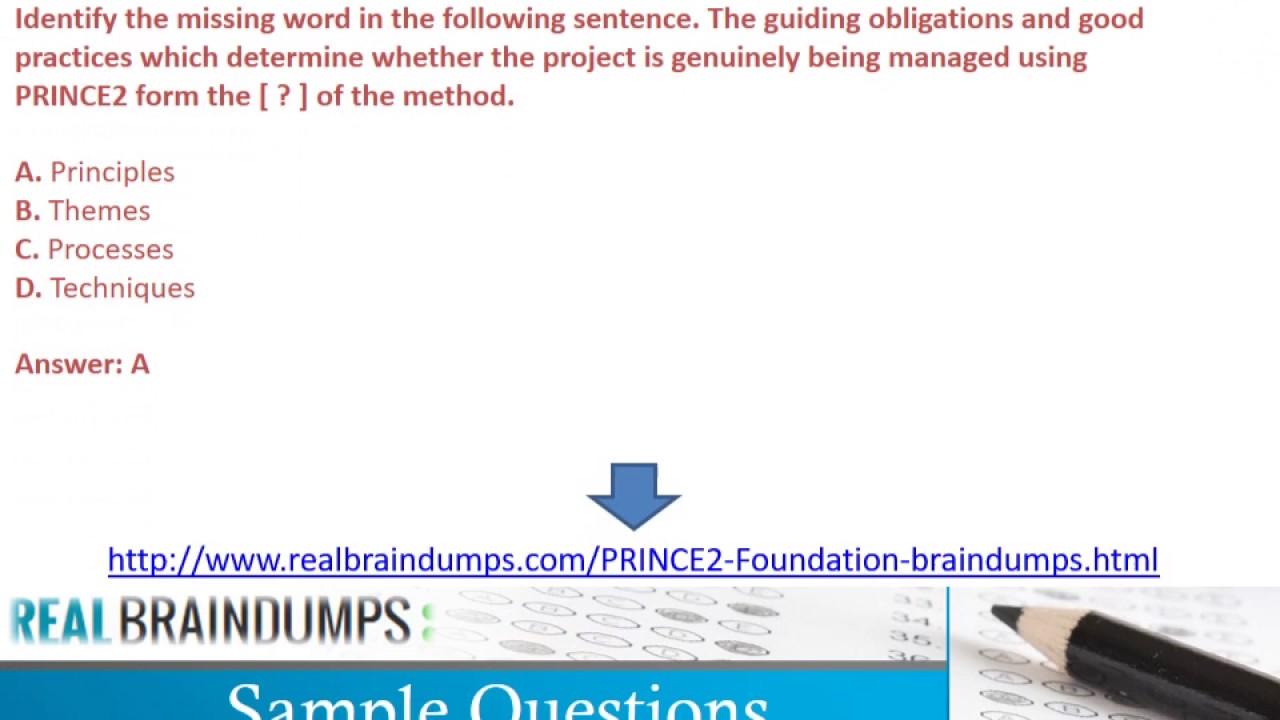 PRINCE2 Dumps