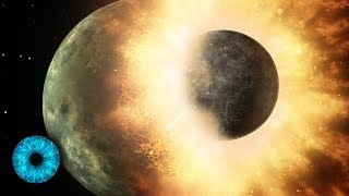 Megacrash - Erde verdampft und der Mond entsteht! - Clixoom Science & Fiction