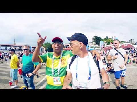 Copa do Mundo: Veja como é uma fanfest em uma câmera 360º