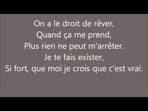 Tal   Le droit de rêver   Paroles