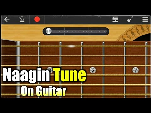 Nagin Tune On Guitar | Guitar Tabs | Indian Naagin Been | WalkBand | Guitar Cover | Mobile Guitar