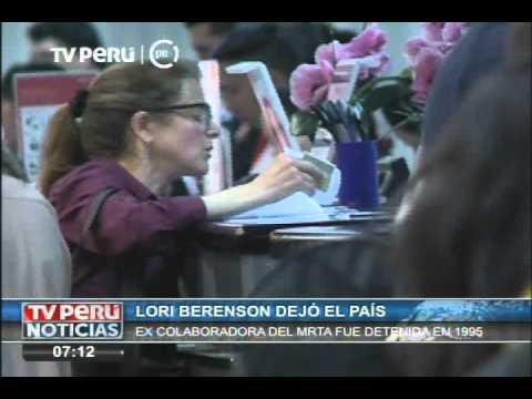 Lori Berenson fue expulsada del Perú tras cumplir condena por terrorismo