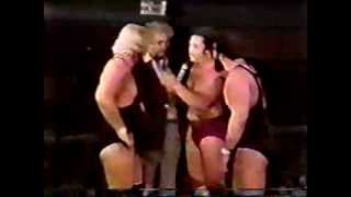 Buddy Rose forced into a Loser Leaves Town Match!!
