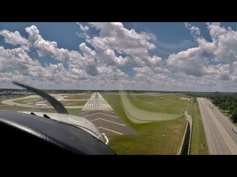 Cross Country Flight from Bowman Field to Lexington with ATC