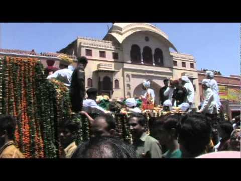 Jaipur Maharaja Funeral Procession