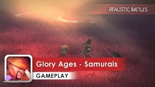 Glory Ages - Samurais Gameplay HD (Android) Best animation of the year?