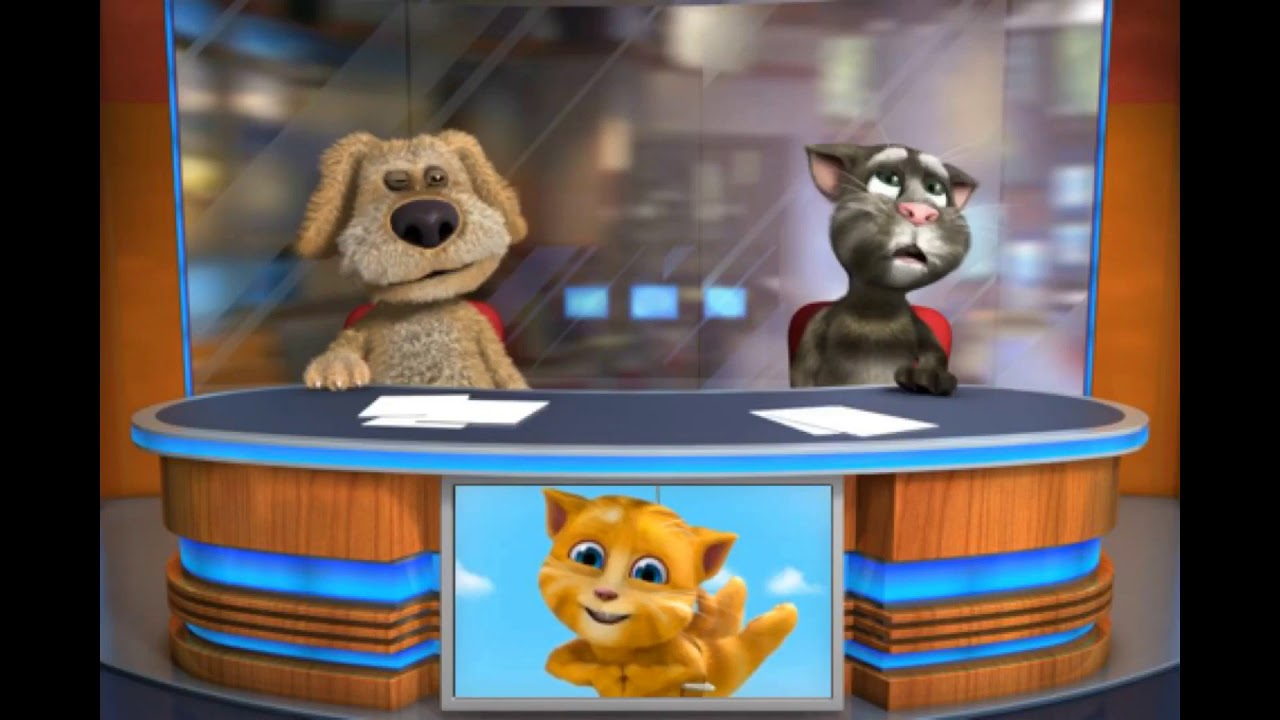 Talking Tom & Ben News Sing Pingu Outro With Effects 5