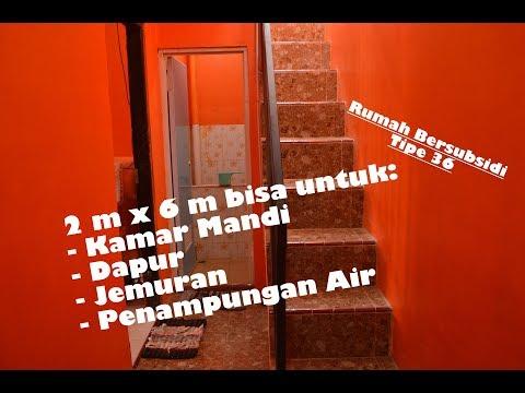 2 m x 6 m untuk Dapur, Kamar Mandi, Tempat Jemuran & Penampungan Air...Apa BISA?