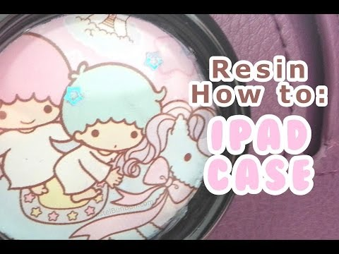 HOW TO - Resin IPad Case 5-25-14