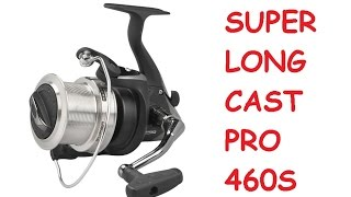 SUPER LONG CAST PRO 460S | разборка катушки