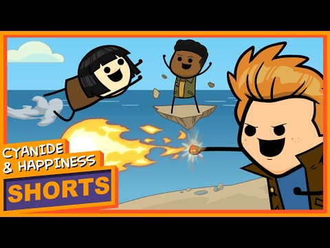 Globe-O-Rangers - Cyanide & Happiness Shorts