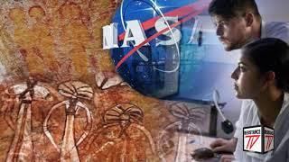La NASA investiga una roca de 10.000 años con pinturas de extraterrestres