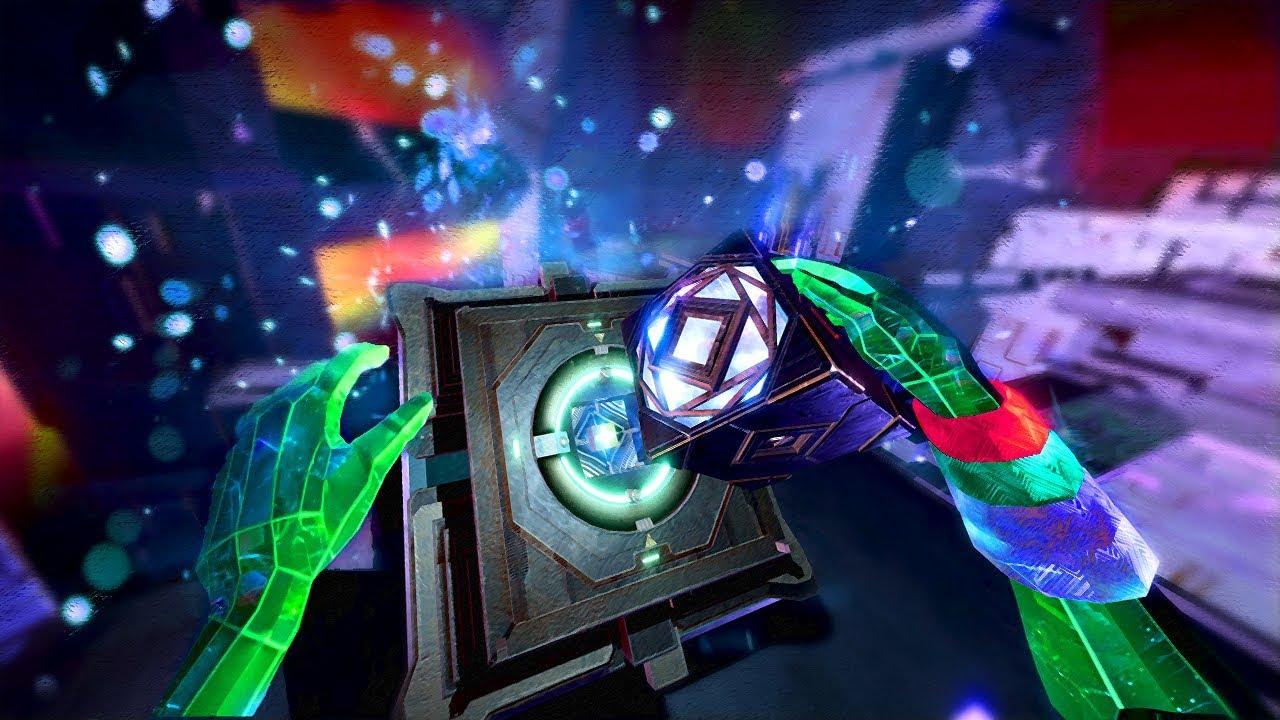 GENIUS TIME TRAVEL PUZZLE GAME | Transpose VR (Oculus Rift + Haptic Suit Gameplay)