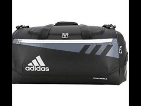 adidas Team Issue Duffel Bag - YouTube 4596956328acd