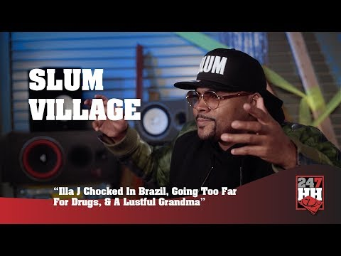 Slum Village - Young RJ Talks Wild Pitbull, Crazy Fan & A Lustful Grandma (247HH Wild Tour Stories)