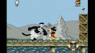 Mickey Mania SNES Walkthrough Super Nintendo Gameplay