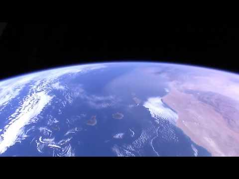 Canary Islands From The Space - ISS, Canarias, Wyspy Kanaryjskie