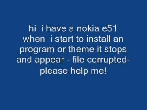 nokia e51 problem