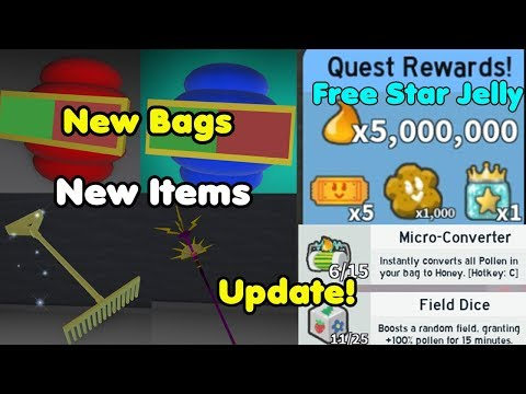 update!-new-items!-new-bags!-completed-all-new-black-bear-missions---bee-swarm-simulator