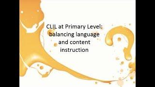 Использование технологии CLIL на уроках английского языка в начальной школе