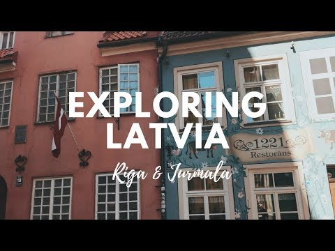 TRAVEL VLOG: exploring Latvia (Riga & Jurmala) || Путешествие в Латвию