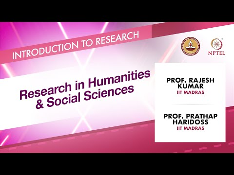 Research in Humanities & Social Sciences